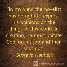 """Not sure I agree with this - after all, God didn't just """"shut up"""" after creation was finished.  He gave His opinion on some things quite decidedly..."""