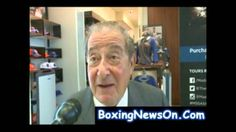Bob Arum's talks about Cotto vs Martinez fight on June 7