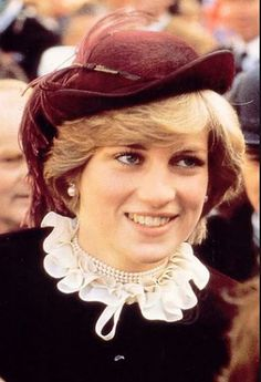 October 29, 1981: Princess Diana on the third day of the Royal visit to Wales…