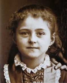 St. Therese as a little girl