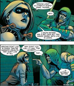 One of the reasons I love Green Arrow.