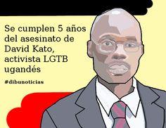 Se cumplen 5 años del asesinato de David Kato, activista LGTB ugandés #dibunoticias