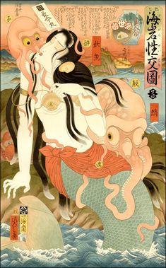 Hiroshi Hirakawa, 艶色海岩性交図