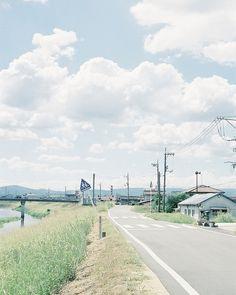 """ileftmyheartintokyo: River bank by hisaya katagami on Flickr. """
