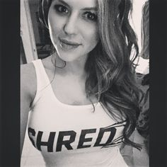 tight wife-beater selfie of ring card girl Brittney Palmer : if you love #MMA, you will love the #MixedMartialArts and #UFC inspired gear at CageCult: http://cagecult.com/mma