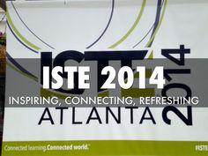 1st Impressions #ISTE 2014 - A Haiku Deck created by Sharon Davison #ISTE2014