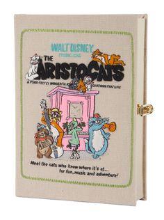 Les sacs et minaudières-livres Olympia Le-Tan x Disney, les aristochats