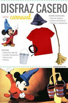 Disfraz casero Mickey Mouse Carnaval