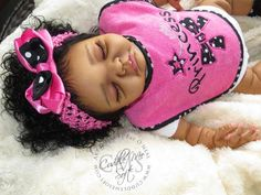 AA / Ethnic Reborn Baby Girl for sale - Avery by Denise Pratt Reborn Dolls For Sale, Reborn Baby Boy Dolls, Baby Dolls For Sale, Newborn Baby Dolls, Baby Girl Dolls, Baby Girls, Black Baby Dolls, Black Babies, Reborn Dolls Silicone