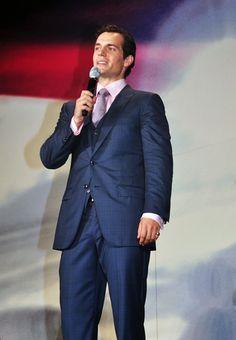 Henry Cavill at Man of Steel Japan Premiere www.metropolistimes.net