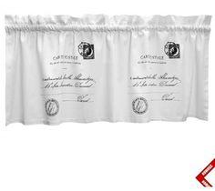 Zazdrostki French Home - Carte Postale - białe - 120cm