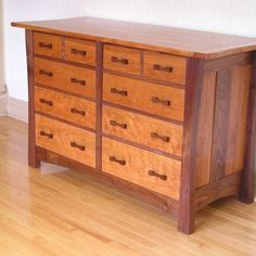 arts and crafts dresser from CustomMade Craftsman Style Furniture, Mission Style Furniture, Built In Furniture, Fine Furniture, Custom Furniture, Furniture Plans, Furniture Design, Wooden Furniture, Arts And Crafts Furniture