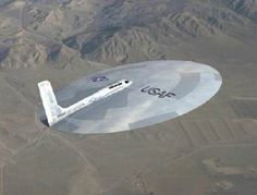 "USAF ""FLYING DISC"" SPY PLANE"