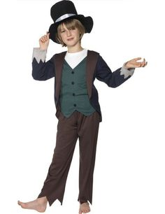 Victoriaans Arme Jongen Kostuum ==> Feestkleding 365!