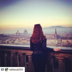 #Repost @talliecat255 I might be leaving in ten days but Firenze will always be my home  #florence #italy #studyabroad #home #piazzalemichelangelo #ispyapi #firenze #italia