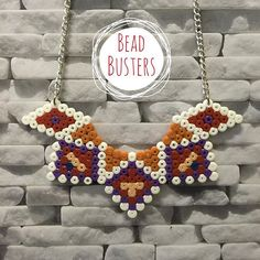 Necklace hama beads by  beadbusters