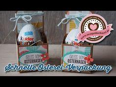 Tutorial: Schnelle Ostereierverpackung mit Produkten von Stampin' Up! - YouTube