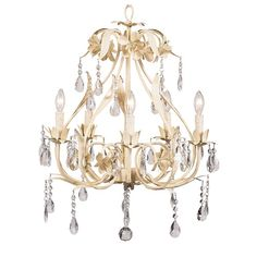 Great Hall Chandelier in Ivory from PoshTots