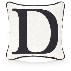 George Home Letter D Cushion