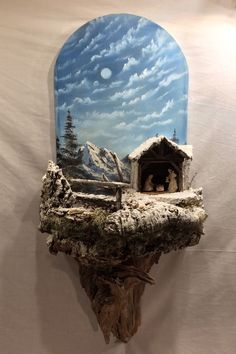 1 million+ Stunning Free Images to Use Anywhere Nativity Crafts, Christmas Nativity, Christmas Art, Christmas Ideas, Chimney Decor, Church Christmas Decorations, Jesus Christ Images, Driftwood Crafts, Giant Paper Flowers