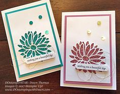 Stampin' Up! DOstamper STARS Friday Featurecards shared by Dawn Olchefske #dostamping(Special Reason Bundle & Glimmer-Dawn Thomas)