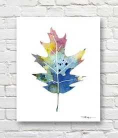 New oak tree tattoo color watercolor painting 50 ideas Pine Tattoo, Oak Leaf Tattoos, Oak Tree Tattoo, Abstract Watercolor Art, Watercolor Leaves, Watercolor Paintings, Watercolor Tattoo, Watercolor Water, Painting Tattoo