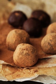 Mint Chocolate Truffles Recipe