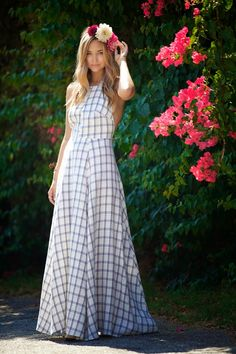 Late Afternoon - summer gown