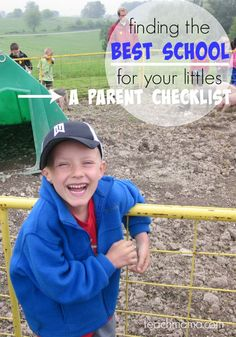 A parent's checklist on how to find the best school for your kids. Tips for parent's on what to consider when choosing a school for your child. These are the questions for parents to ask when looking for a good school for their child and what works with their daily schedule! #teachmama #school #choosingaschool #parentingtips #momhelps #education #bestschools #schoolyear