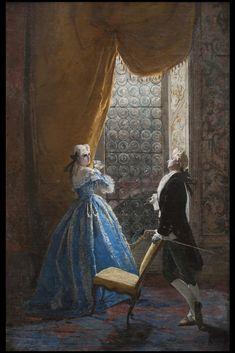 Rococo Style, Scene, Romantic, Photography, Paintings, Image, Photograph, Paint, Fotografie