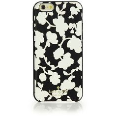 Kate Spade New York Floral-Print iPhone 6 Case (539.075 IDR) ❤ liked on Polyvore