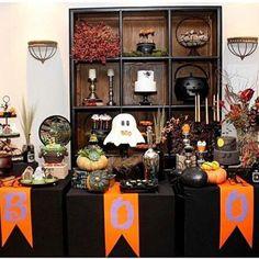 Inspiração muito fofa para Halloween, por @lollisboutiquedefestas. Adorei!  #kikidsparty