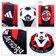 Milan soccer jersey