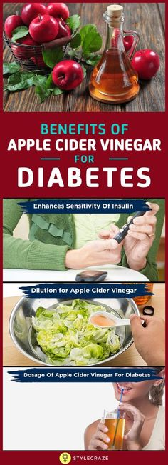 Science supports the benefits of apple cider vinegar, and that is sufficient enough to include it in your diabetic diet!