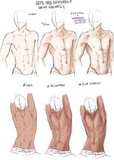 Drawing Tips Torso Anatomy Sketches, Anatomy Drawing, Anatomy Art, Art Drawings Sketches, Body Reference Drawing, Body Drawing, Art Reference Poses, Hand Reference, Watercolor Drawing