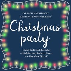 17 best online christmas party invitations images christmas party