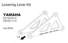 Mad Hornets - Lowering Kit Yamaha FAZER FZ1 N/S (06-07-08-09-10-11-12) FZ8 (11-12), $68.99 (http://www.madhornets.com/lowering-kit-yamaha-fazer-fz1-n-s-06-07-08-09-10-11-12-fz8-11-12/)