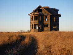 southwestern Saskatchewan...........only the skeleton remains