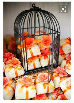 Inspiracoes para noivinhas na cor laranja 7