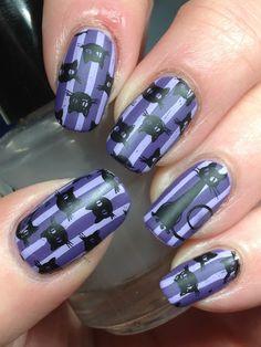 Canadian Nail Fanatic: 40 Great Nail Art Ideas Does Violet