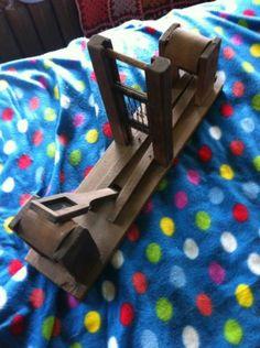 Antique Tape Weaving Loom Wooden 19th Century Nice | eBay