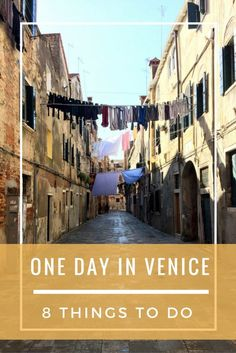 A guest post from Emily at Everyday Accounts about 8 Things To Do With One Day In Venice! It includes lots of eating and getting lost too!