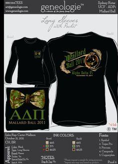 Mallard Ball shirt idea.