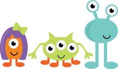 monster clipart cute - Pesquisa Google