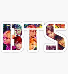 'BTS - Wings ' Sticker by minpop Pop Stickers, Printable Stickers, Bts Chibi, Bts Bangtan Boy, Bts Jimin, First Love Bts, Bts School, Bts Cake, Bts Birthdays