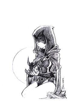 TEEN TITANS - Raven by verotzard.deviantart.com on @DeviantArt