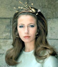 HRH The Princess Anne Elizabeth Alice Louise      by Norman Parkinson