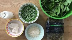 This delicious no cook green pea pasta sauce is perfect to feed the whole family and the kids wont even know they are eating all these veggies.