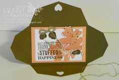 Control Freaks Blog Hop for October. Stampin' Up! Gift Card Framelit & For All Things stamp set by Debbie Henderson, Debbie's Designs. 3 projects.