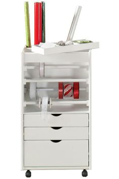 IHeart Organizing: You Asked: Repurposed Component Cart